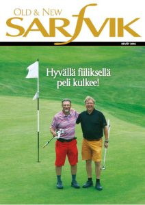 Sarfvik golf kansi kevät 2016
